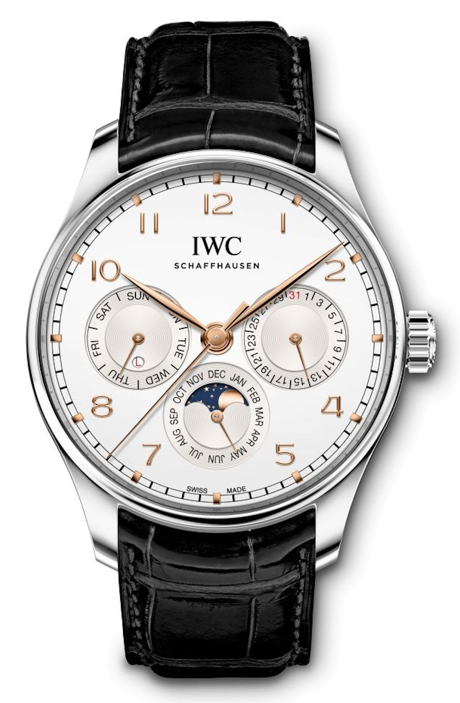 New 2020 IWC Portugieser  Perpetual Calendar 42 Watch models - stainless steel