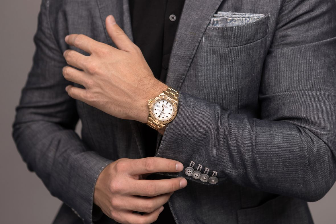 Rolex Yacht-Master 40 Yellow Gold White Dial