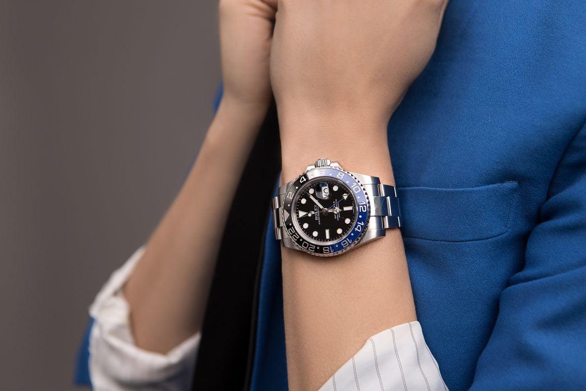 Rolex GMT-Master II Batman Oyster Bracelet