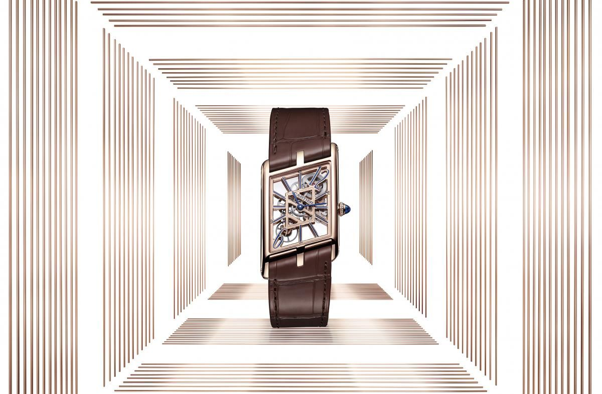 New 2020 Cartier Watch Models Announced Tank Asymétrique Skeleton