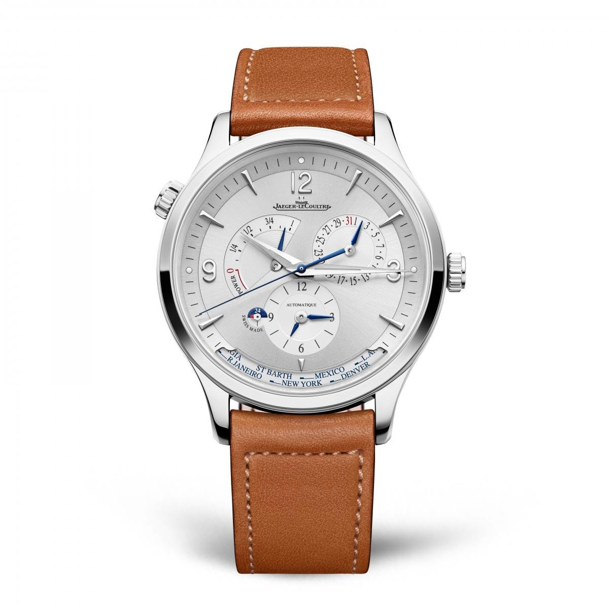 New Jaeger-LeCoultre Master Control Geographic Watch for 2020