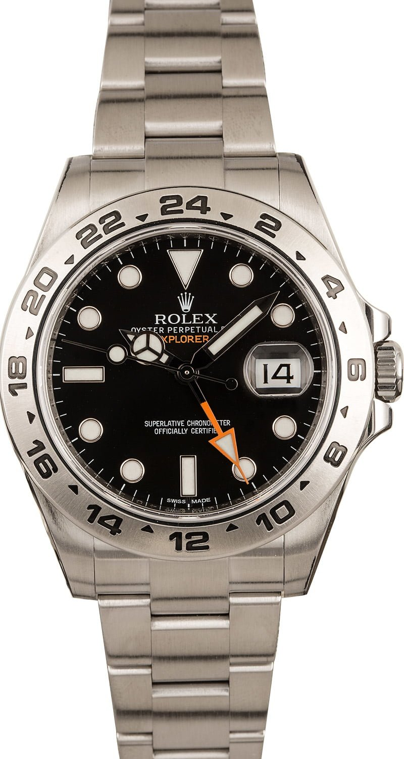 Rolex Explorer II GMT-Hand Official Guide 216570 42mm