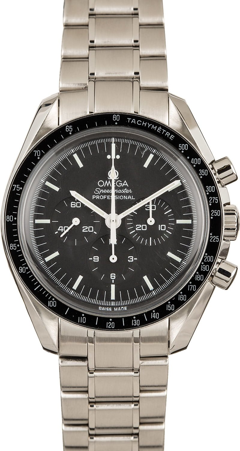 Shop for Luxury Watches Between $1K and $5K Omega Speedmaster Professional Moonwatch
