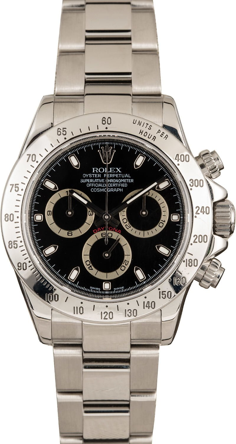 Least Expensive Rolex Daytona Watches 116520 Stainless Steel