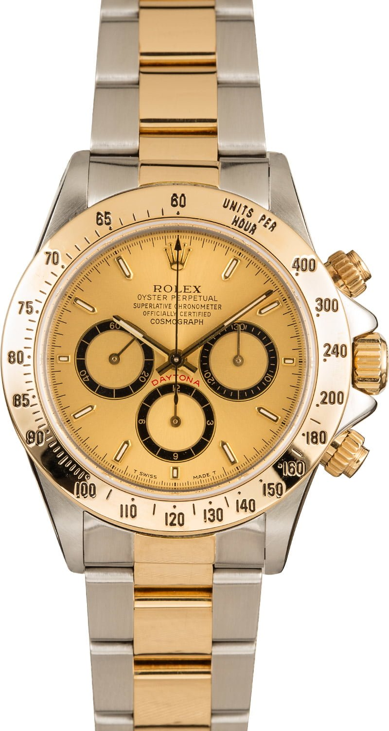 Rolex Daytona Watches Best Bargains Two-Tone 16523