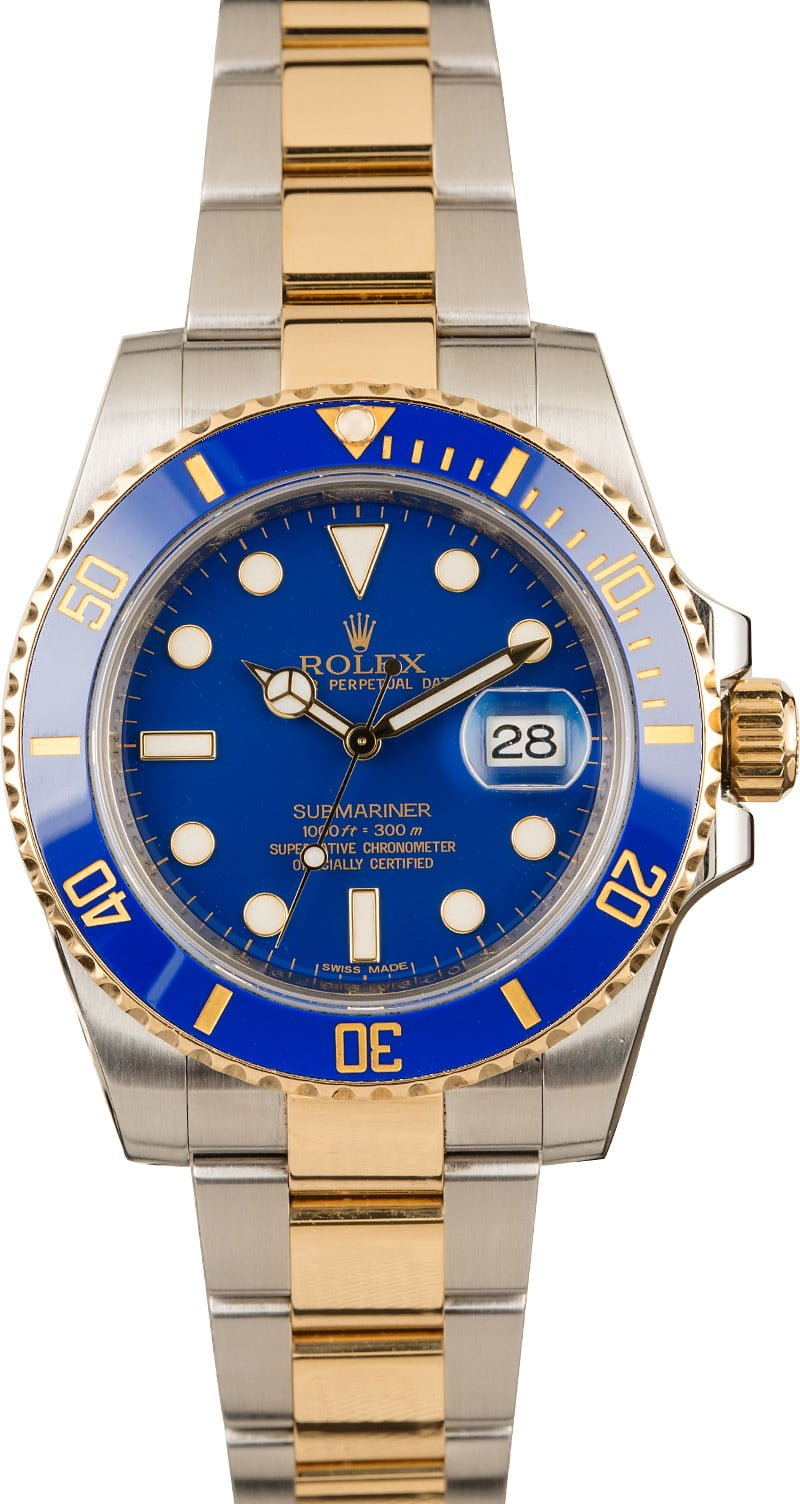 Rolex Professional Watches to Wear on Easter Blue Submariner 116613LB