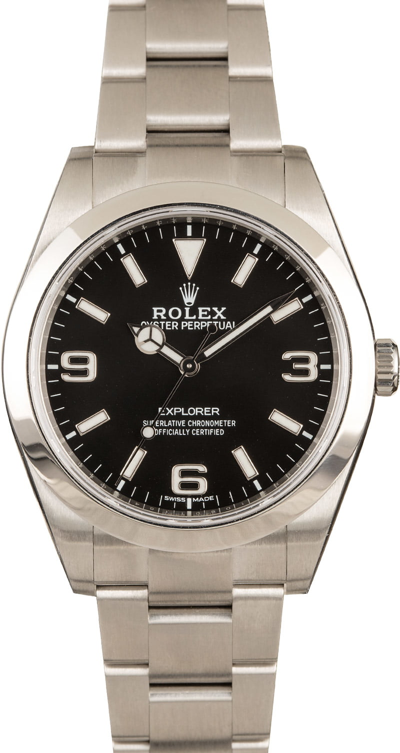 Famous Vintage Luxury Watches and their Modern Counterparts Rolex Explorer 214270