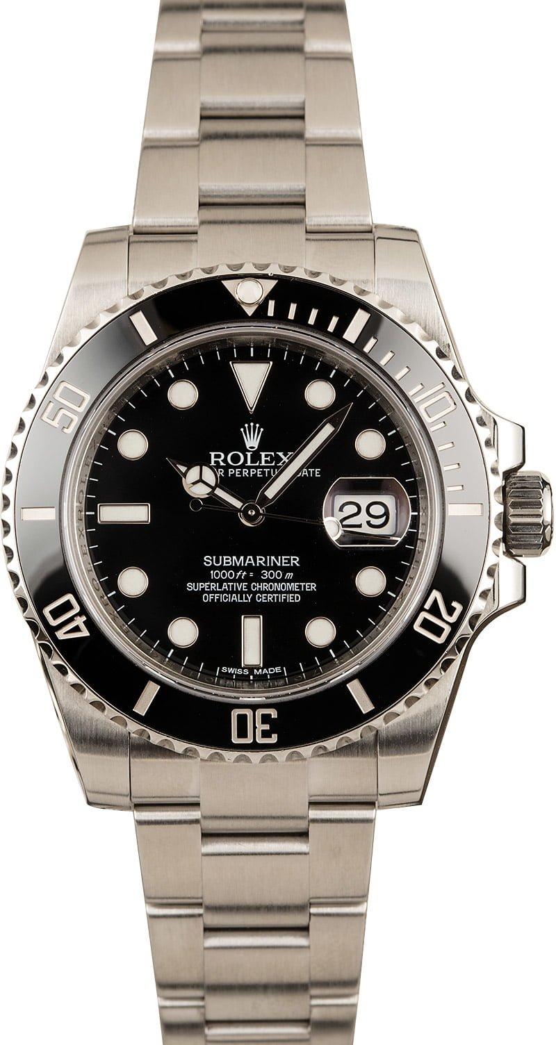 The Best Three Watch Mens Rolex Collection Submariner 116610LN