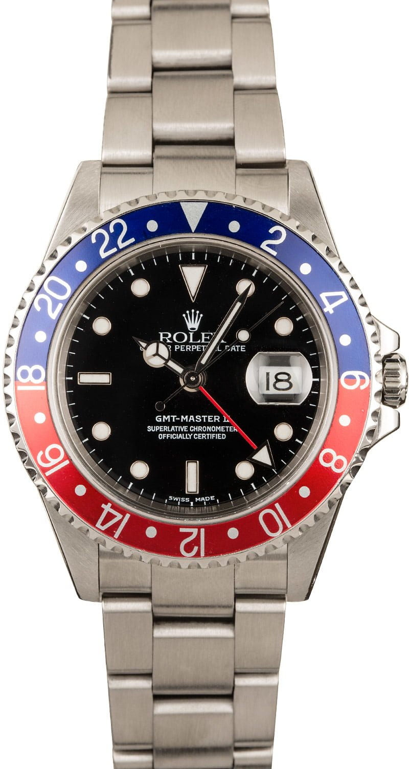 Our Favorite Rolex Watches for Sale Right Now Pepsi GMT-Master II 16710