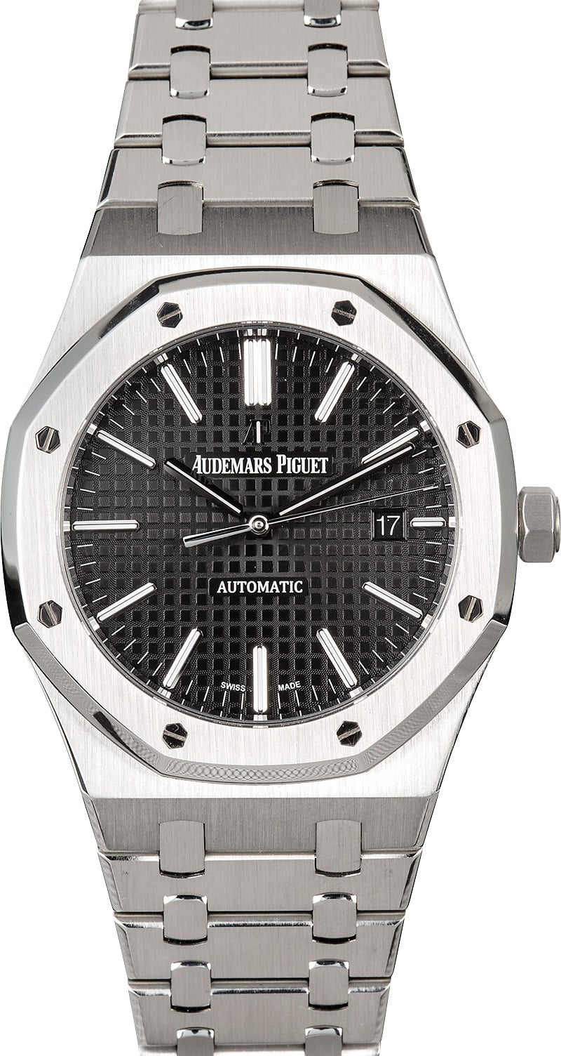 The Best Iconic Mens Luxury Watches that all Collectors Should Know AP Royal Oak stainless steel