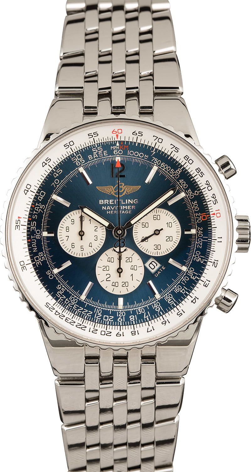 Breitling Watches A Few of the Best Navitimer References A35340 Integrated Bracelet