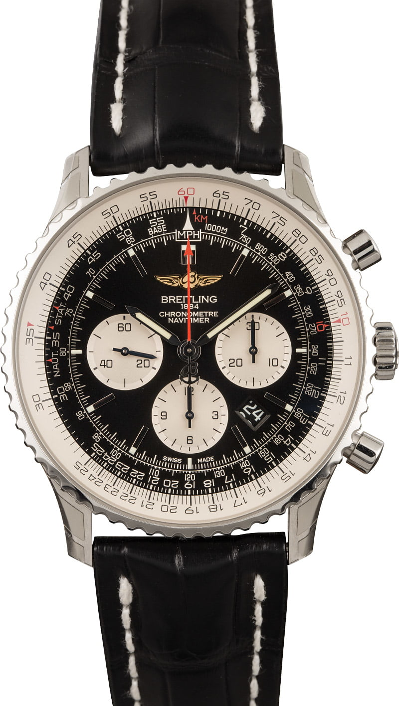 7 Most Iconic Mens Luxury Watches Every Collector Should Know Breitling Navitimer Chronograph
