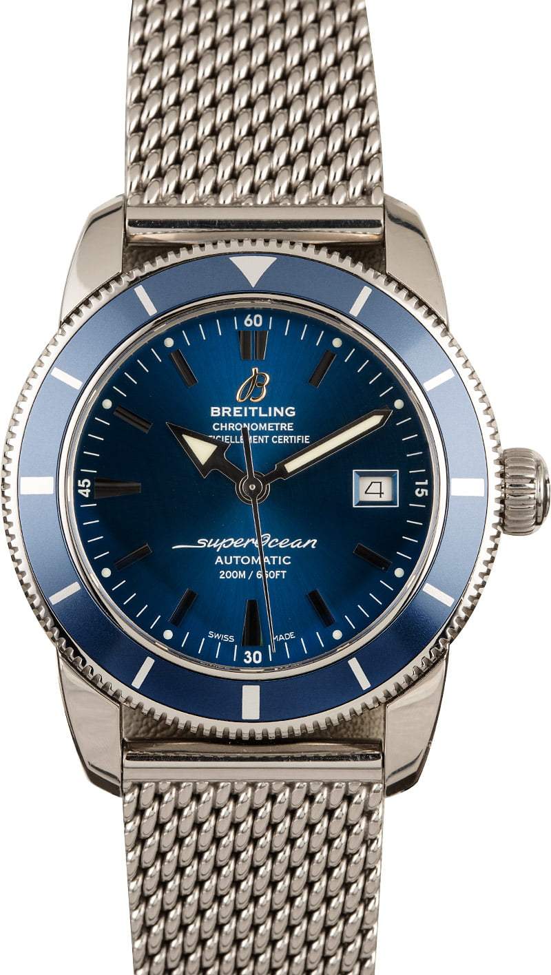 Vintage Luxury Watches and their Modern Versions Breitling Superocean Heritage