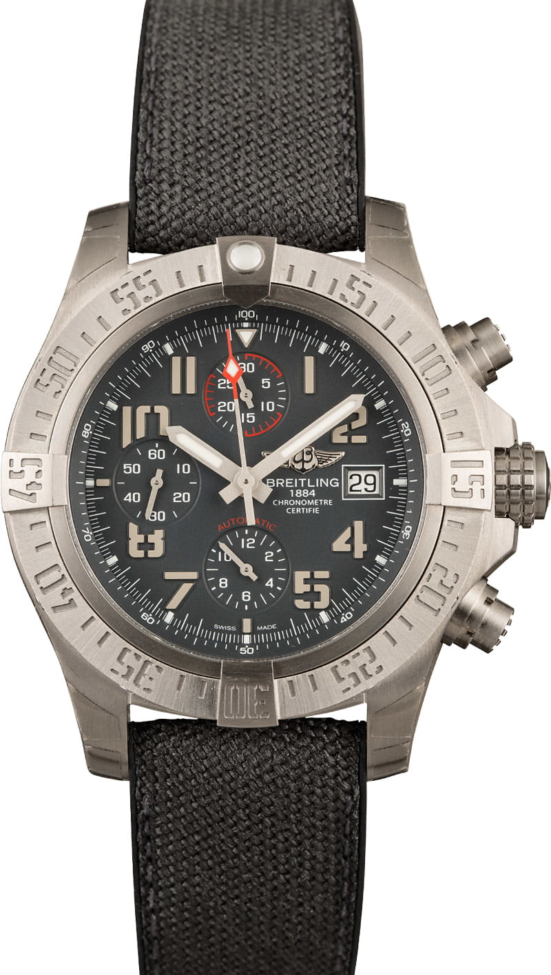 Breitling Watches Strap Options Ultimate Guide Nylon Military