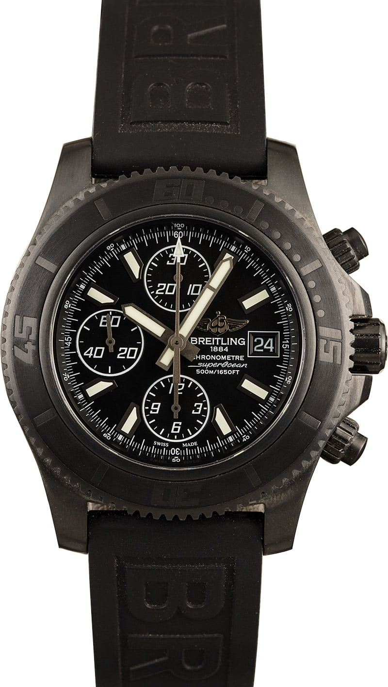 Breitling Watches Ultimate Strap Guide Diver Pro III Rubber
