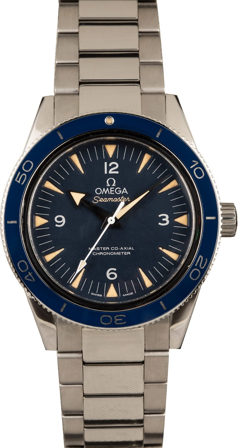 Not James Bond Omega Seamaster 300 Watches Worth Buying Titanium