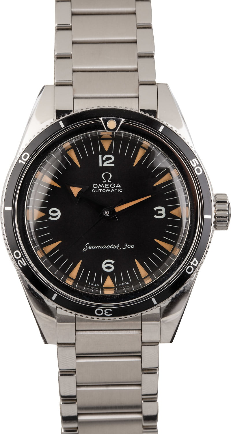 Modern Versions of Vintage Luxury Watches Omega Seamaster 300