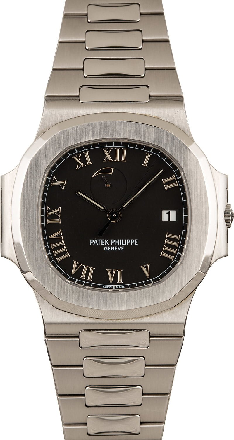 Most Iconic Mens Luxury Watches for Collector Patek Philippe Nautilus Power Reserve 3710