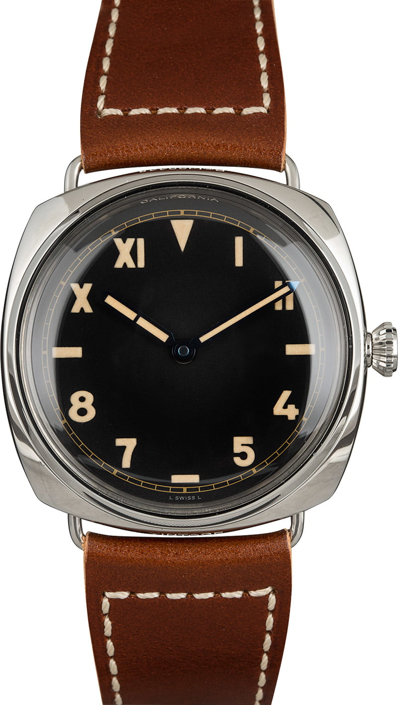 Contemporary Versions of Famous Vintage Luxury Watches Panerai Radiomir California Dial