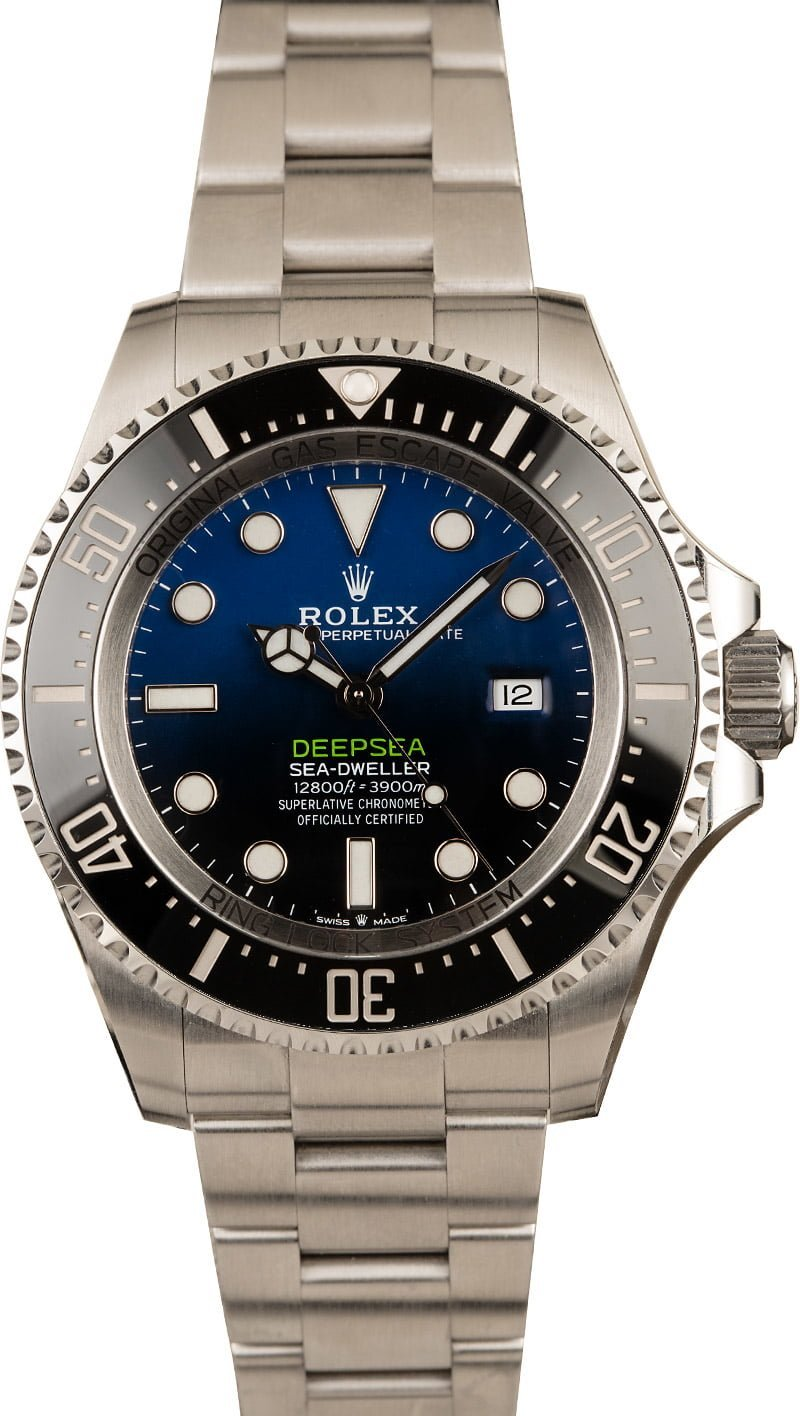 Our Absolute Favorite Colorful Rolex Watch Dials Deepsea Sea-Dweller 126660 D-Blue Dial