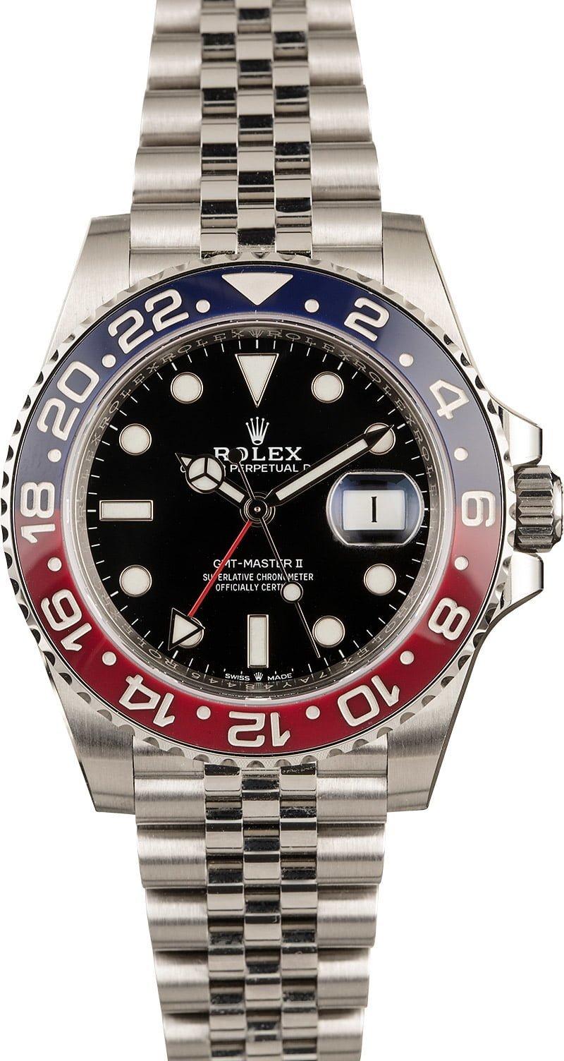Rolex GMT-Master II 16710 vs 126710 BLRO Pepsi Bezel Comparison Guide