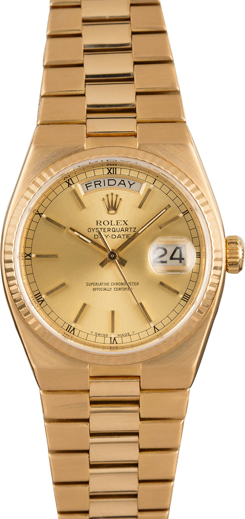 The Official Rolex Day-Date Oysterquartz Reference Guide