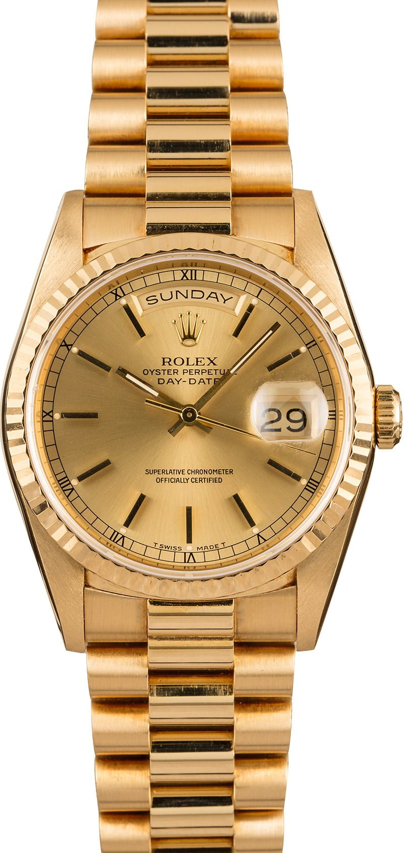 The Perfect Three Best Mens Rolex Watch Collection Day-Date President 18238