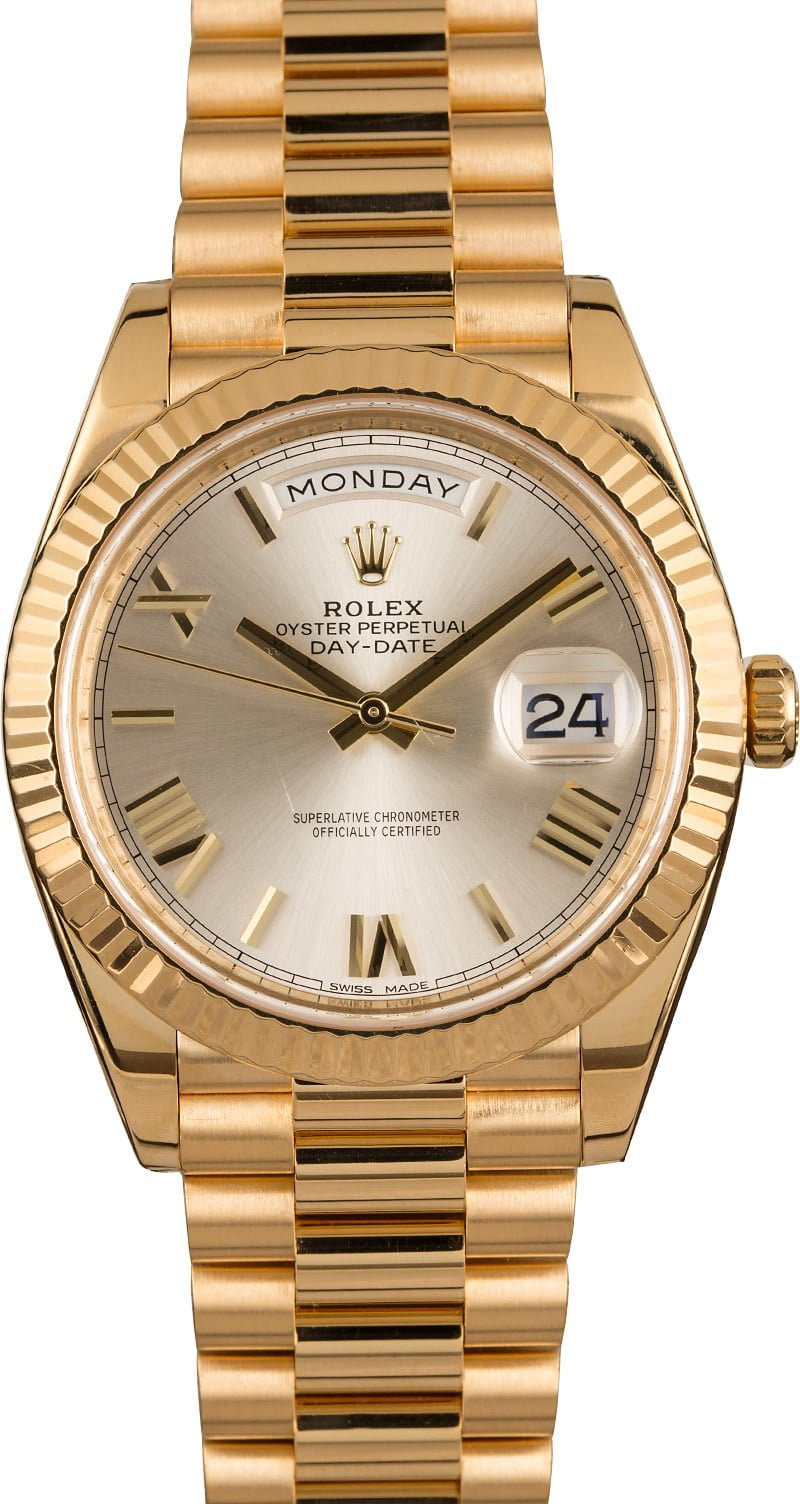 Best Three Mens Rolex Watch Collection Day-Date President 228238 Roman Dial