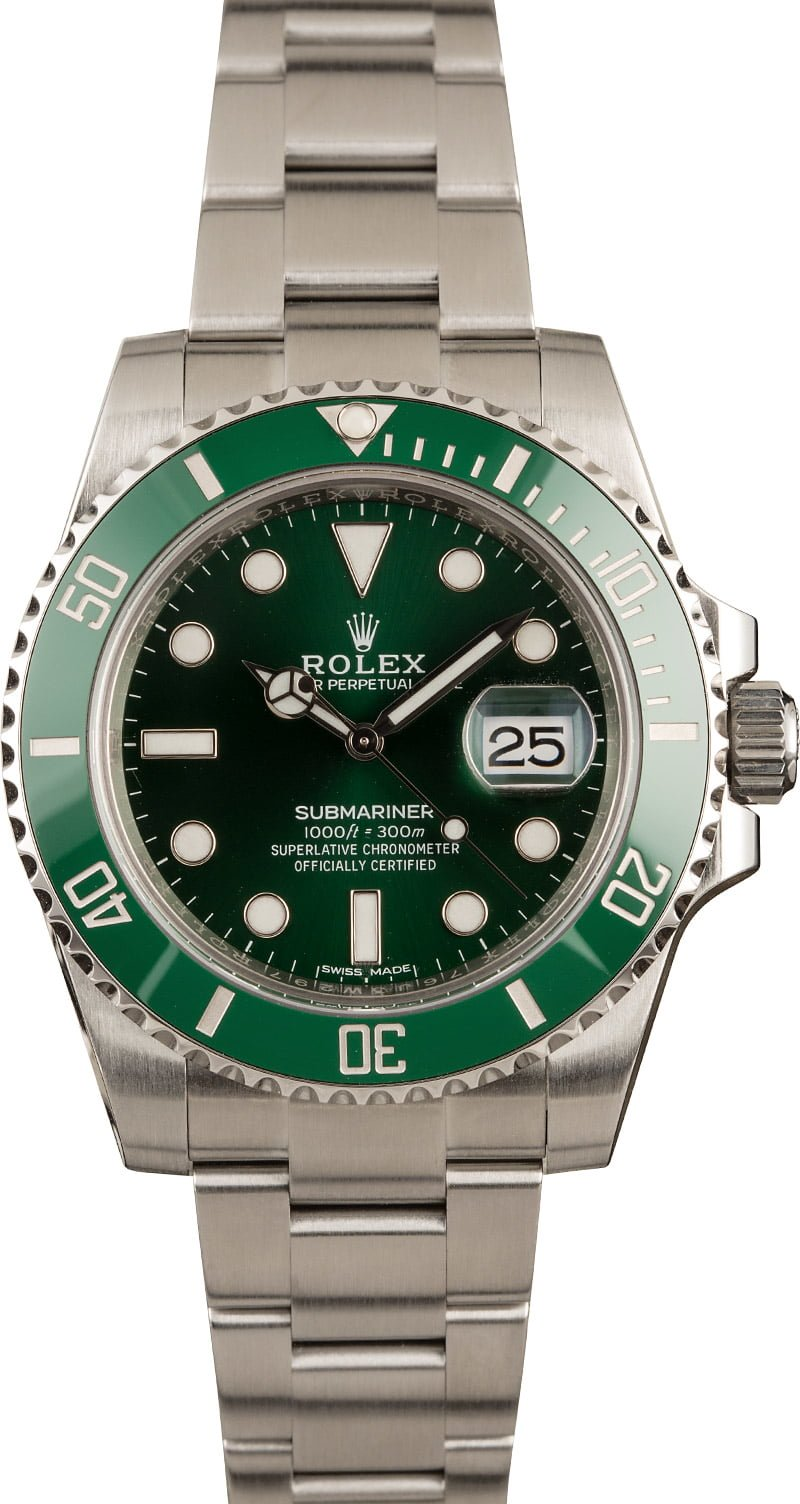 Rolex Hulk Submariner Green 116610LV Review