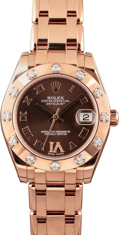 Mothers Day Gift Rolex Midsize Pearlmaster