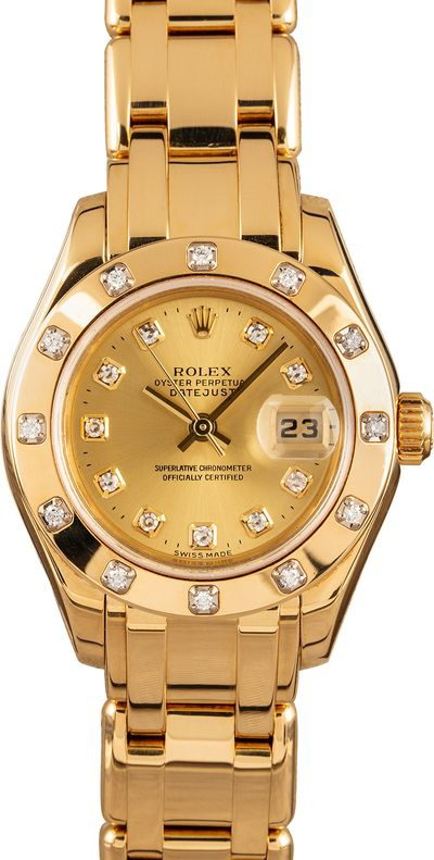 Mothers Day Gift Rolex Pearlmaster
