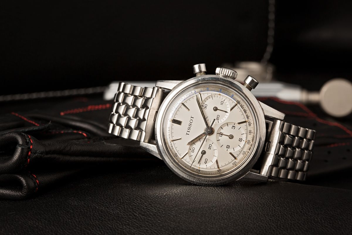 Tissot Watches - The History and Heritage of the Brand Vintage Chronograph ref 808A
