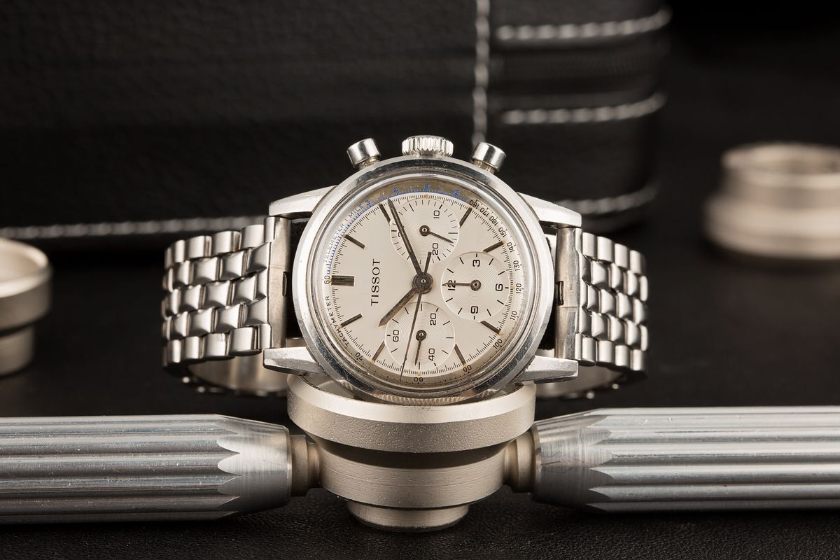 The History and Heritage of Tissot Watches Vintage ref 808A chronograph