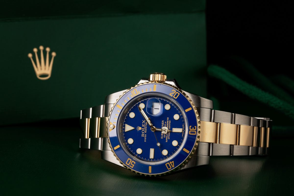 Prices Guide How Much Is a Two-tone Rolex Submariner? Blue dial steel and gold