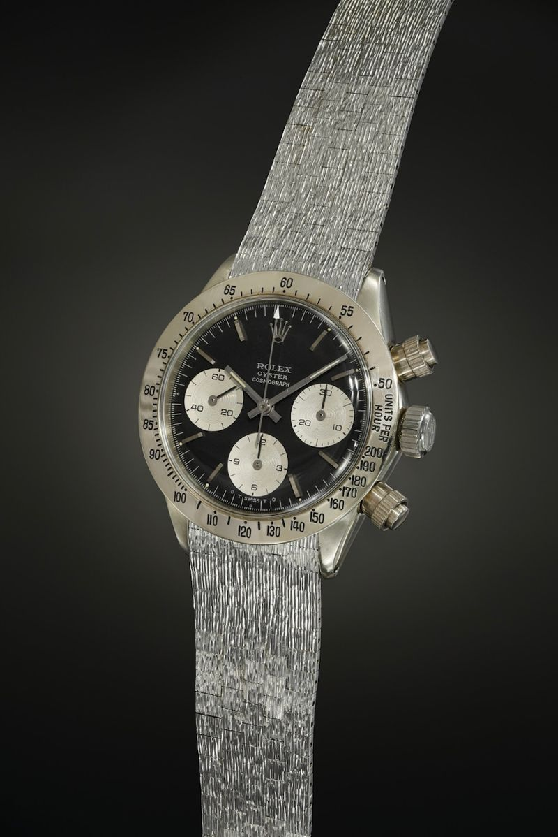 The Most unusual and rare Rolex watches Unicorn Daytona 6265 /9