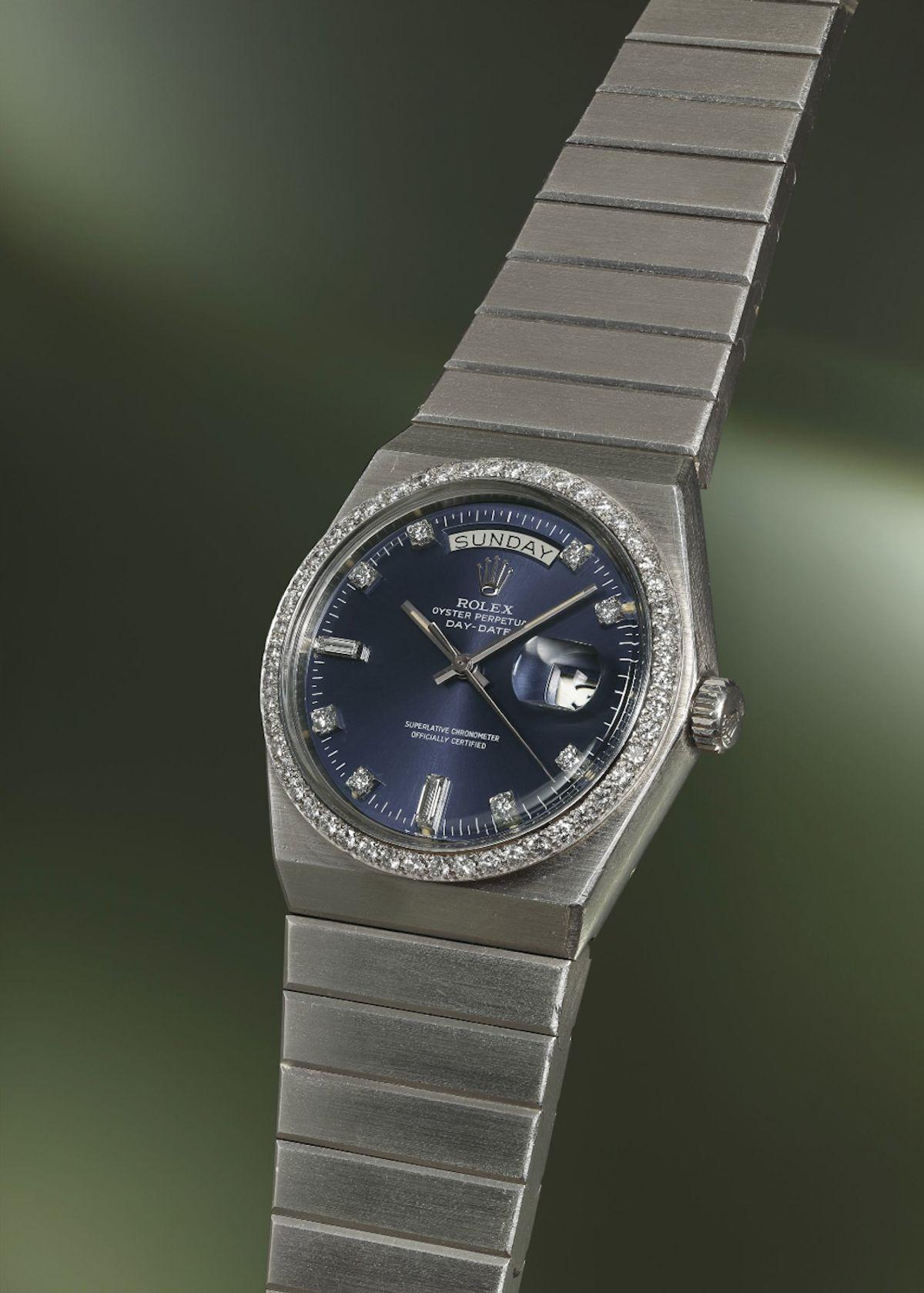 Most Unusual Rolex Watches Rolex Day-Date 1831 Platinum