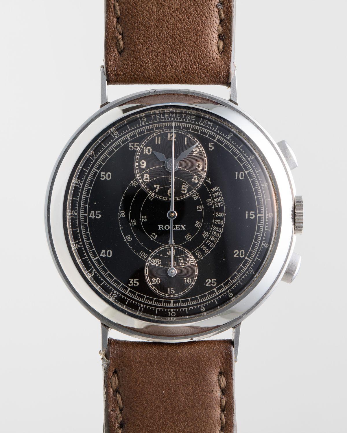 The strangest and rarest rolex watches 2737 Regulator Chronograph