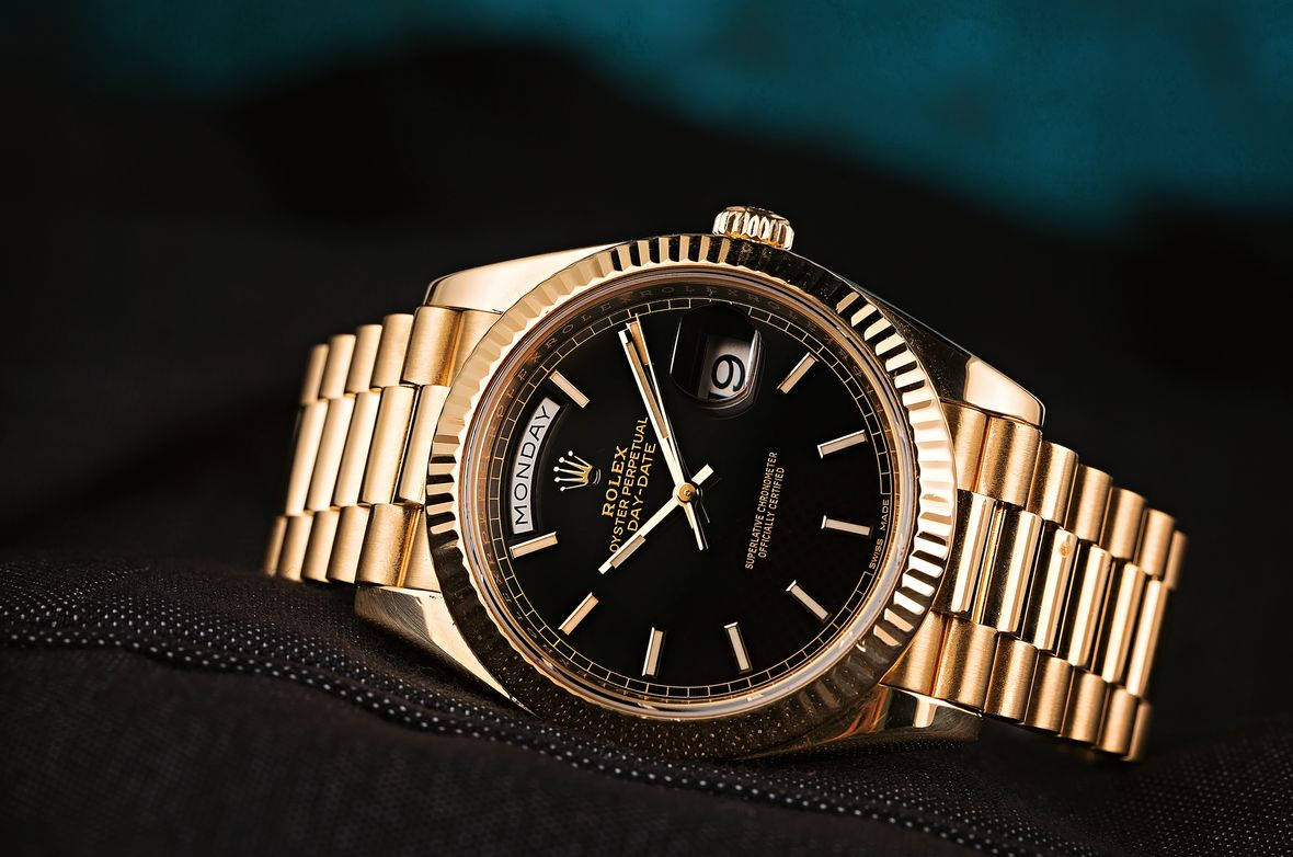 Fathers Day Gift Rolex Day-Date 40 President Yellow Gold