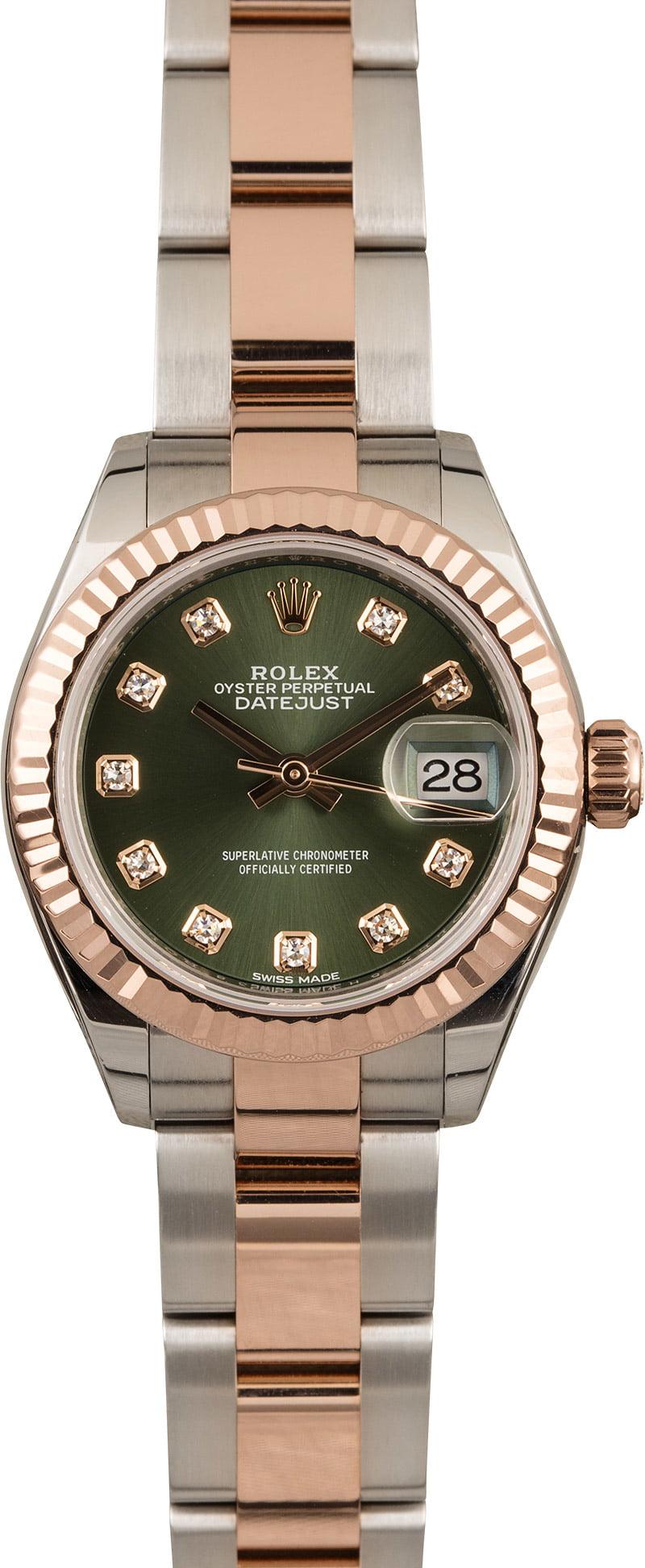 Rolex Datejust 28 Size Options