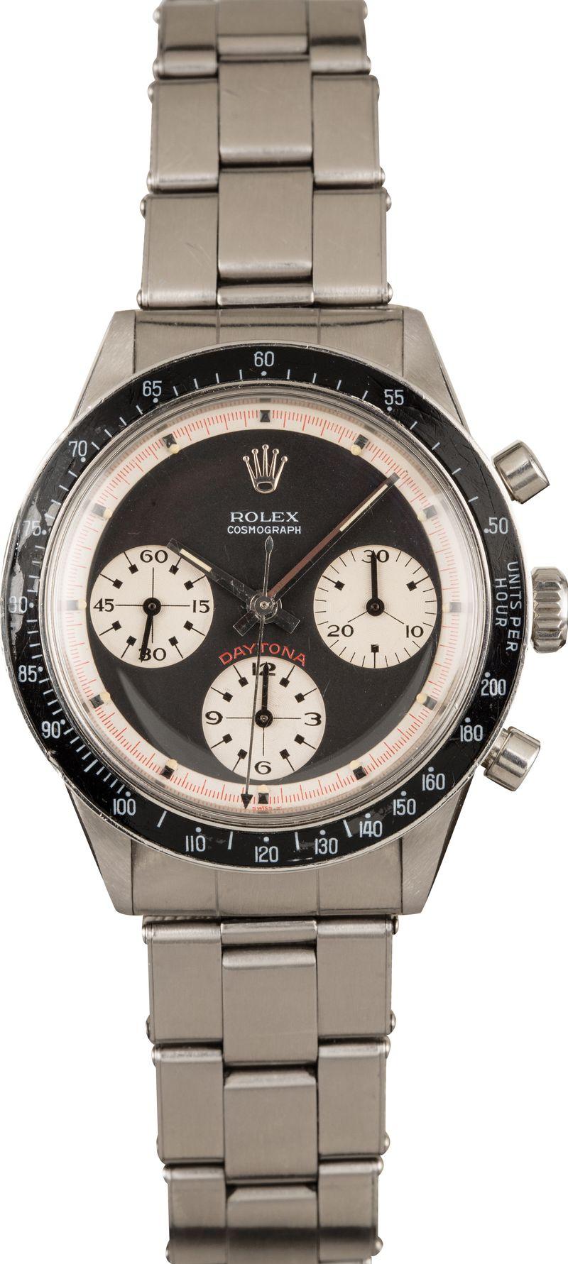 Fresh Finds Auction Vintage Rolex Paul Newman Daytona 6241