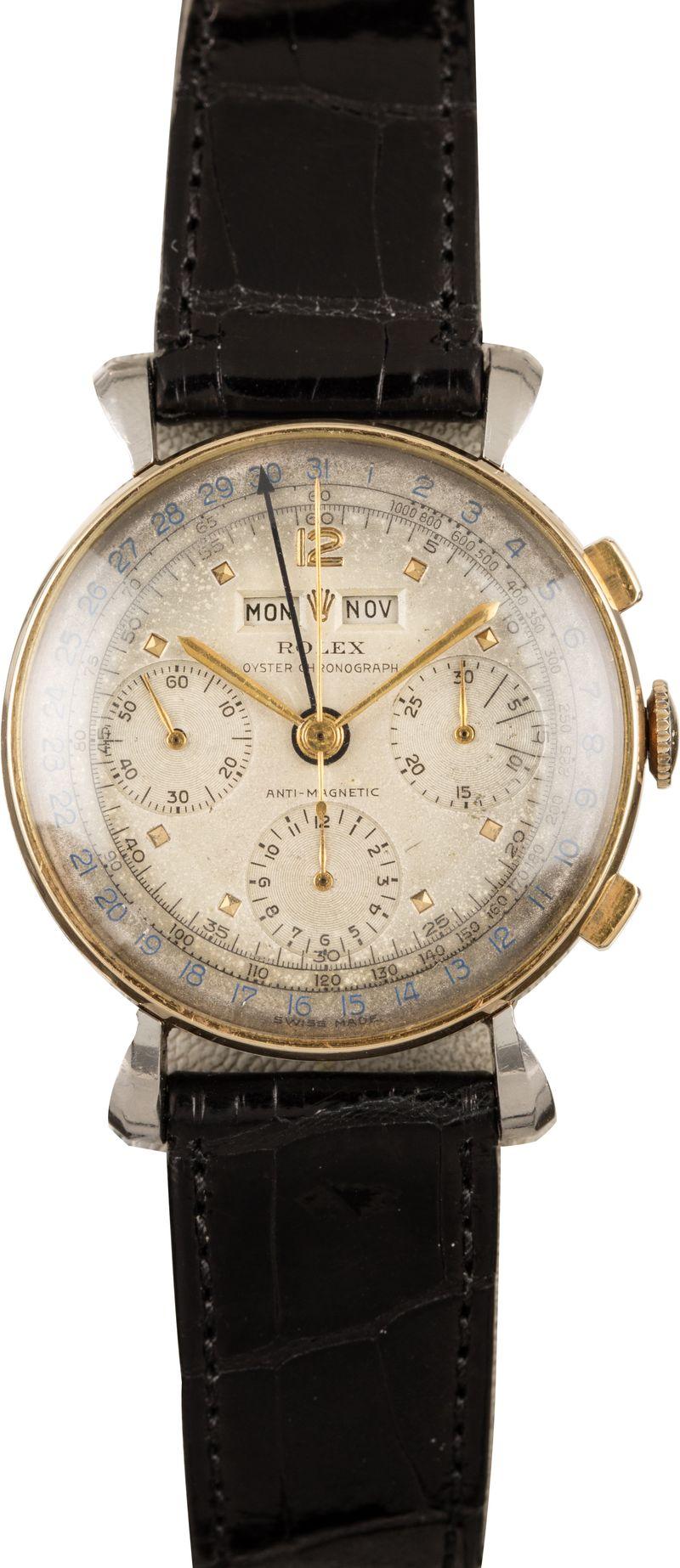Vintage Rolex Fresh Finds Auction Triple Calendar Chronograph 4768
