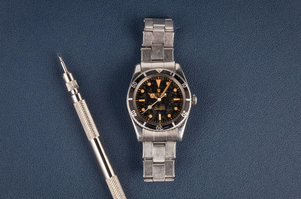 Fresh Finds Vintage Rolex Auction Submariner 6536