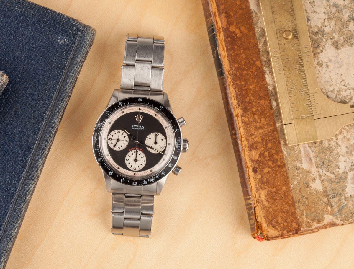 Fresh Finds Vintage Rolex Watch Auction Paul Newman Daytona 6241
