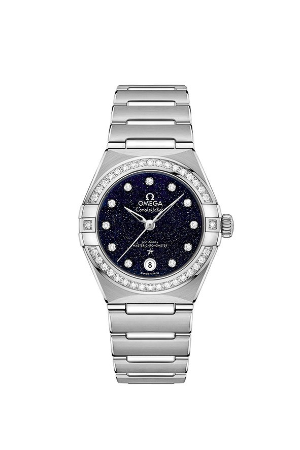 New OMEGA Constellation Aventurine Dial Watches - Stainless Steel