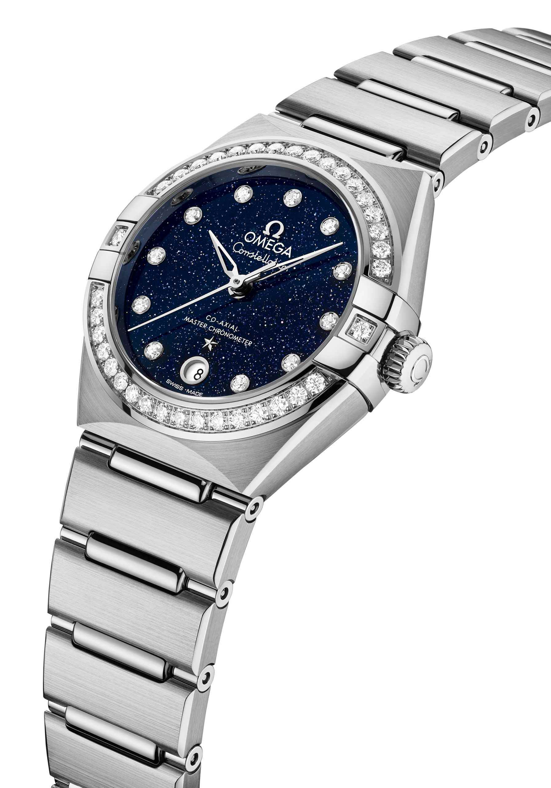 New OMEGA Constellation Watches with Aventurine Dials