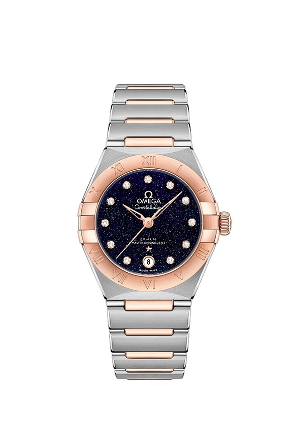New OMEGA Constellation Watches with Aventurine Dial - Two-Tone 18k Sedna Gold