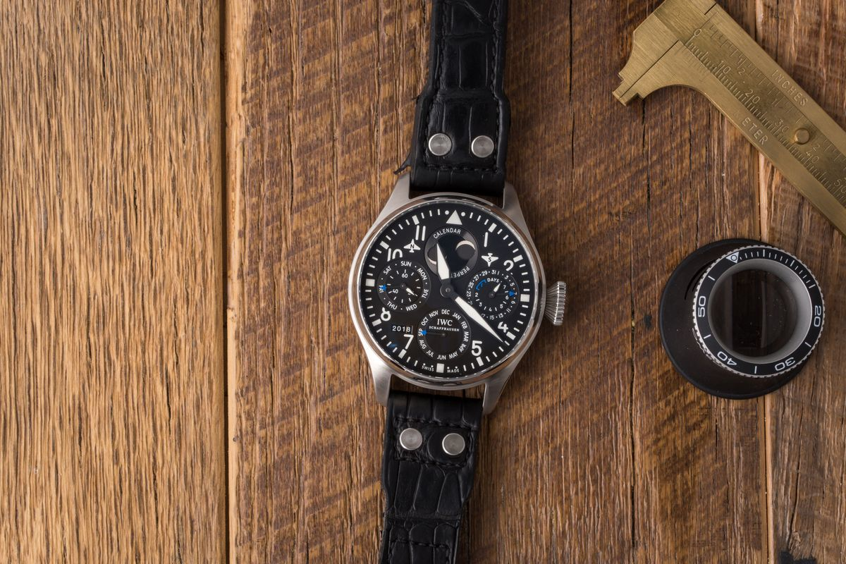 Top 14 Pilot Watches Ultimate Buying Guide IWC Big Pilot Perpetual Calendar