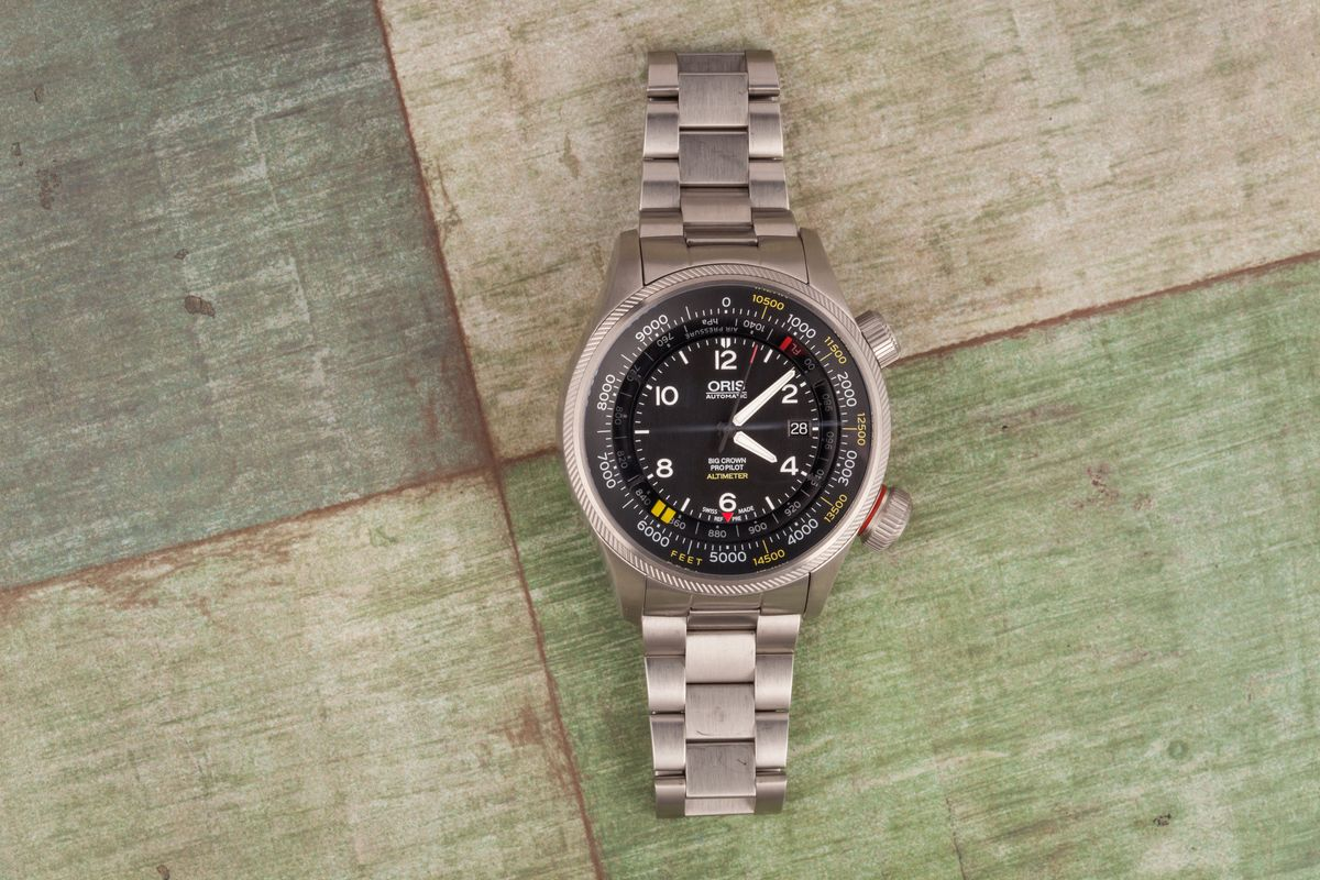 Top 14 Pilot Watches Ultimate Buying Guide Oris Big Crown ProPilot Altimeter