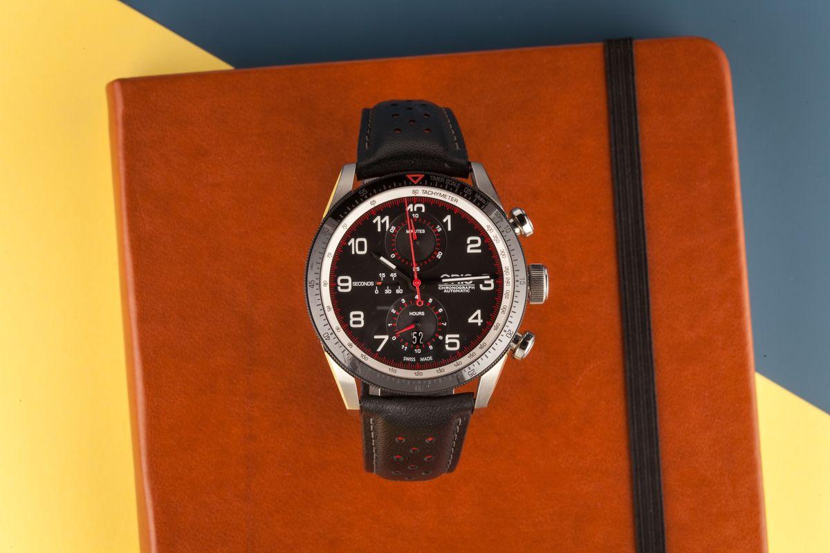 Best Racing Watches Oris Calobra Chronograph