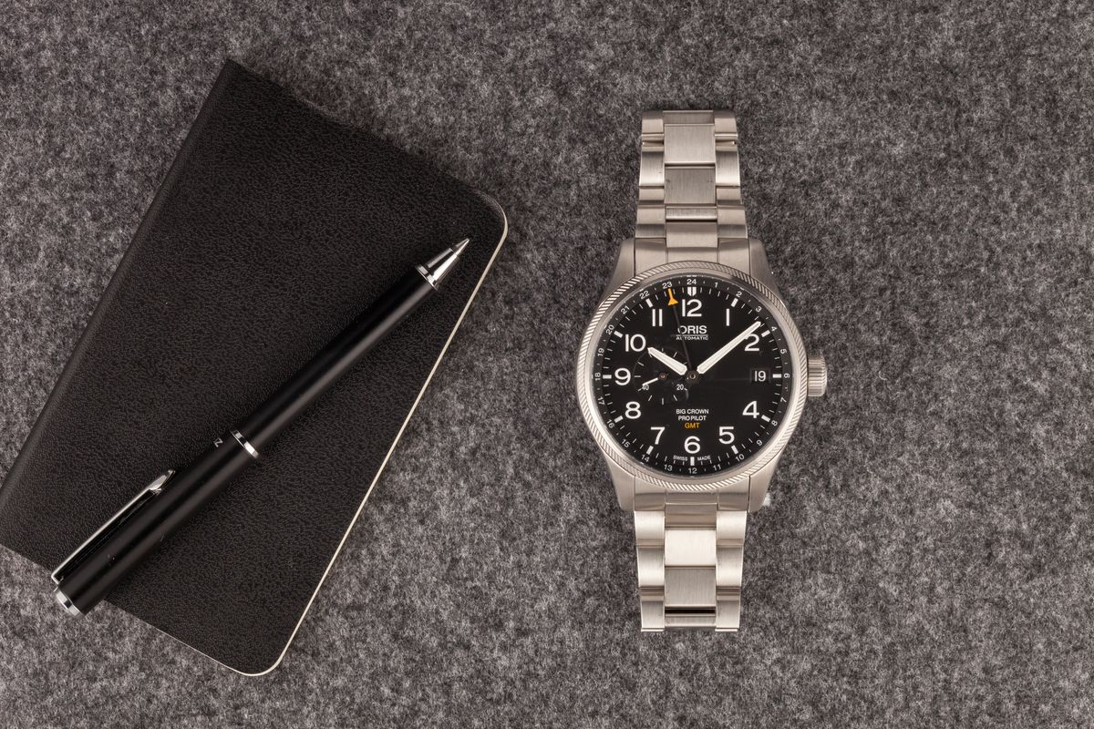 Top 14 Pilot Watches Ultimate Buying Guide Oris Big Crown ProPilot GMT